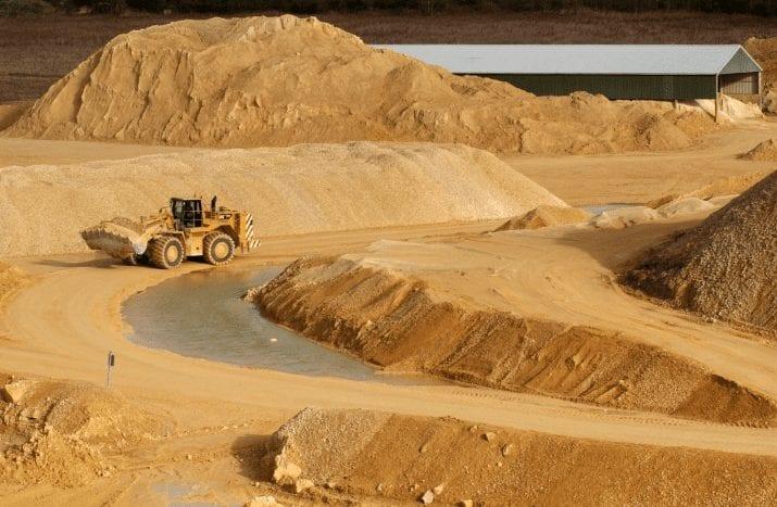 Цена на доставку песка за 1м3