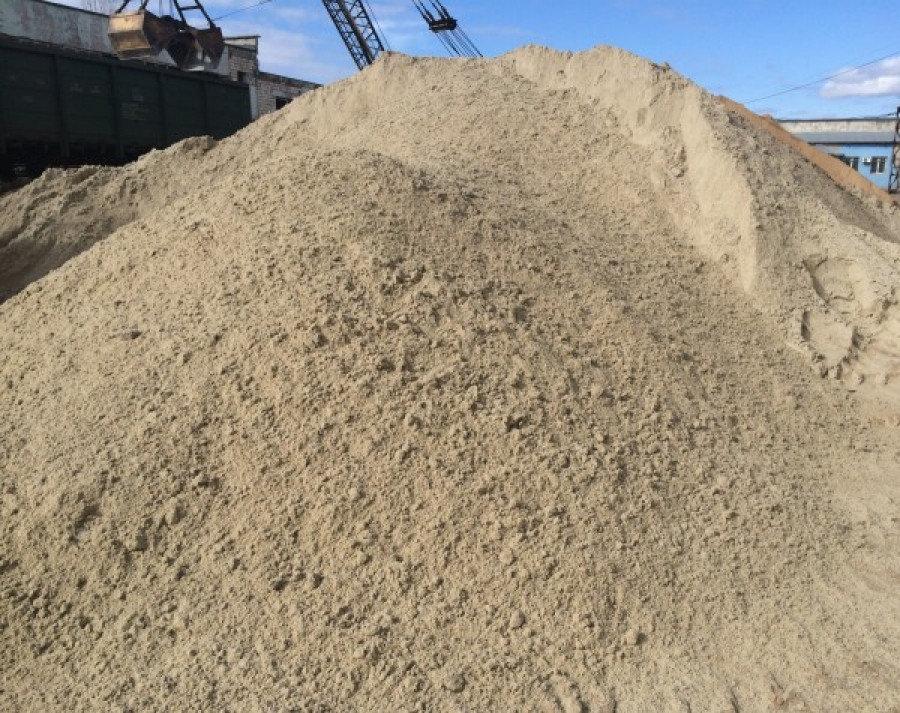 Песок в Ломоносове
