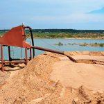 Намывной песок в СПб